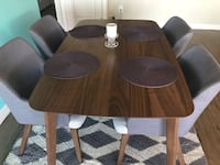 Dinning room table with 4 chairs   Marina Del Rey, 90292