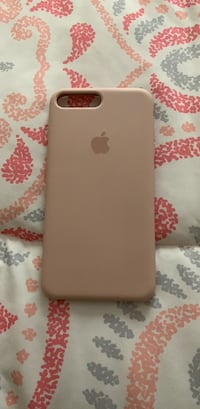 Apple silicon pink iPhone 7 Plus and 8 plus case never used brand new  Turlock, 95382