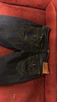 blue True Religion denim bottoms Markham, L3T 6V9
