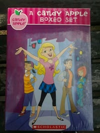 A candy apple boxed set