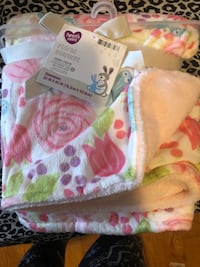 Baby blankets, towels, bibs and birp cloths