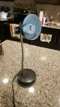 black and gray desk lamp Denton, 76205