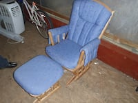 Blue cushion glider