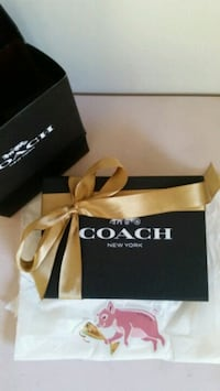 Coach small trifold wallet  552 km