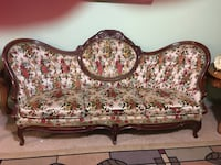 Multicolor Victorian sofa and 2 chairs  Benton, 37307