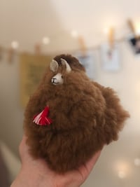 Alpaca Fur Animal Plush Toy 100% real fur Leesburg, 20176
