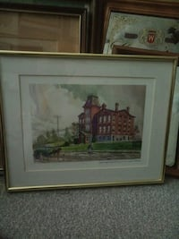 Old kitchener school print.