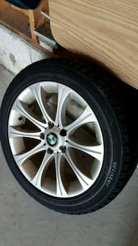 One BMW rim and tire Pickering