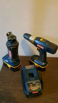 Ryobi Cordless Cut Out and Drill Driver Tool with
