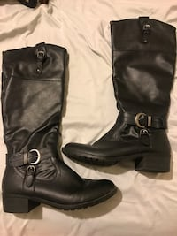 Faux Leather Boots Manteca, 95336