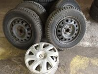 Set of 4 winter w/rim. P185/65R14 리치몬드 힐, L4C 6P3