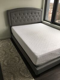 Queen bed frame,mattress and box spring Arlington, 22201