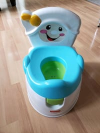 baby's blue and green plastic potty trainer Kittery, 03904