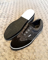 Mens Jimmy Choo shoes paid $695 size 13 (46) Guaranteed authentic! Only worn once. Grey Speckled Brian sneakers. Excellent condition.   Washington, 20002