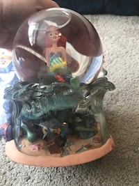 Vintage Little Mermaid snow globe  Alexandria, 22304