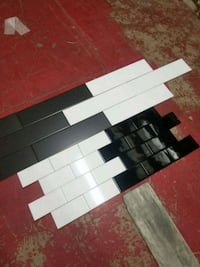 3x6 and 4x16 black white subway tile for walls or  Oregon City, 97045