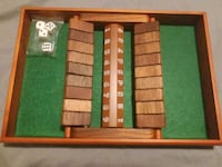 SHUT THE BOX game Toronto, M9M 0B5