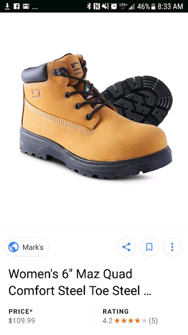 0287a04187 Used dakota womans steel toe work boots for sale in Windsor - letgo