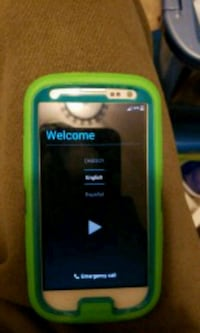 Att galaxy s3 with case Millersville, 21108