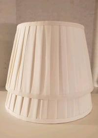 $12 Brand New 2 Threshold White Cotton Pleated Lamp Shade   Louisville, 40223
