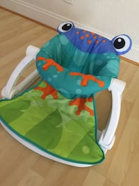 Baby's blue and green chair for infant to 6 months Boynton Beach, 33472