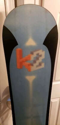 K2 Wisdom Snowboard with Bindings  Toronto, M9W 1X2