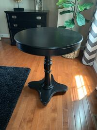 Round Black Side Table Frederick, 21704