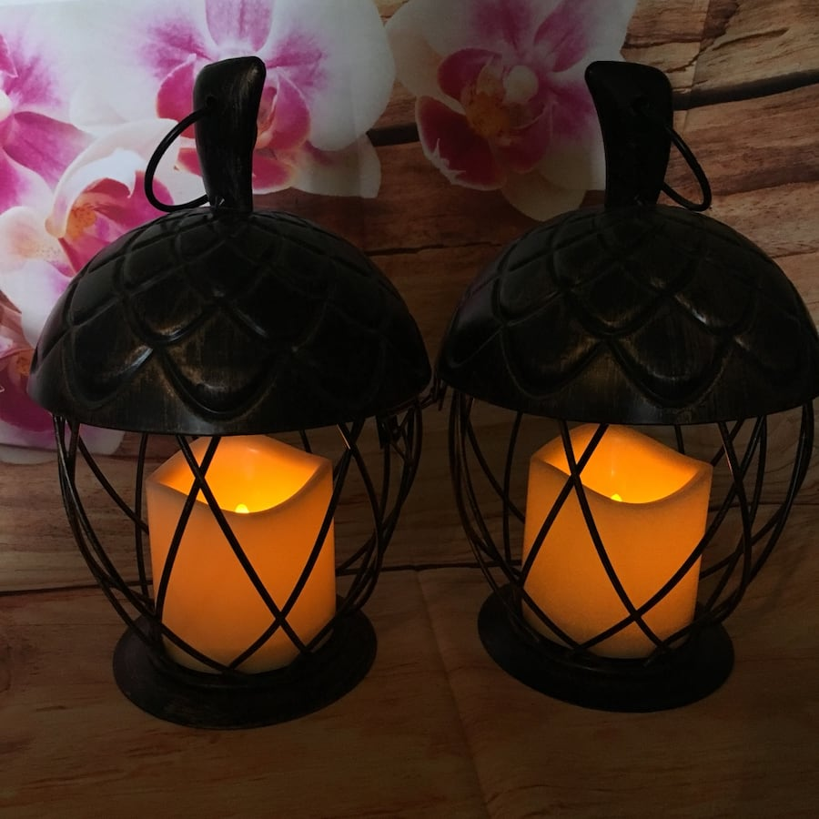 Metal Acorn Lanterns-NEW fc408555-1718-4932-8221-a2b0862c2745