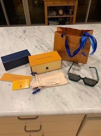 Louis Vuitton millionare sunglasses Washington
