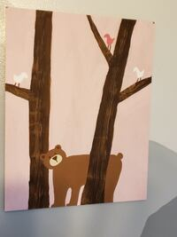 Baby animal nursery wooden canvases Georgetown, 47122