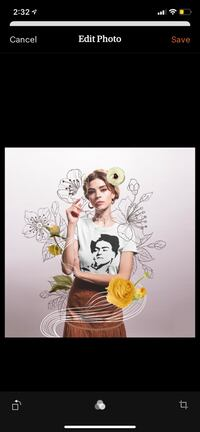 Frida soft tshirt