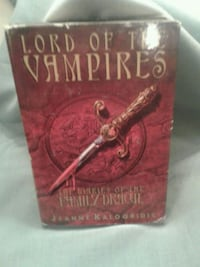 Lord of the vampires , 347 pages hard copy  Spotsylvania Courthouse, 23116