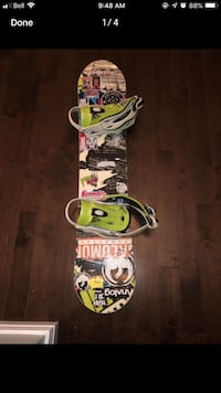 116cm nitro youth snowboard with bindings and boots Fall River, B2T 1J1