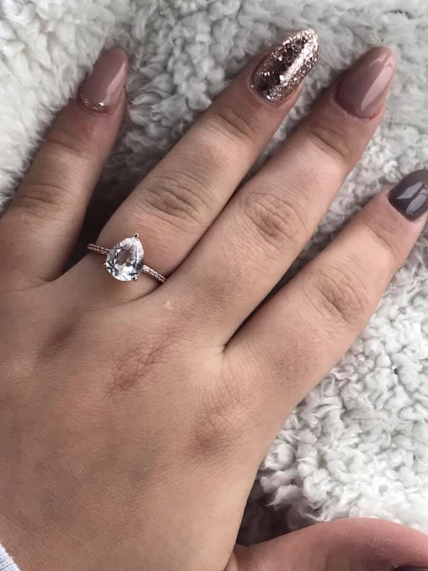 Kay Jewelers Tear Drop Ring