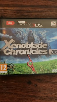 Xenoblade chronicles 3ds Oslo, 0689