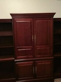 Solid wood entertainment center, holds a 37 inch  Sumter, 29154