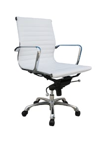 Executive white office chairs (many available) Vancouver, V6E 3J5