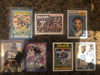 Eric Dickerson collector cards 1986-1993