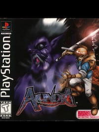 PLAYSTATION 1 ALUNDRA RPG GAME  Edmonton, T5L 0S3