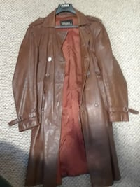 brown leather coat Doylestown, 18901