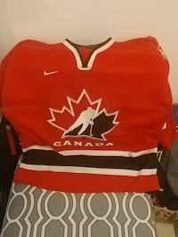 red-black-and-white Canada jersey