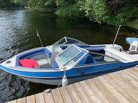 15 ft Grew Bowrider boat 60 HP Johnson outboard Ajax, L1T 2T8