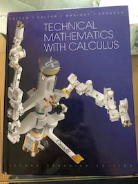 Technical Mathematics With Calculus Toronto, M9N 1S7