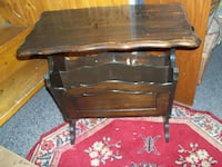 neat antique walnut side table..as found condition...firm price... Corbyville