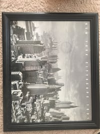 black wooden framed grayscale photo of city Woodbridge, 22193
