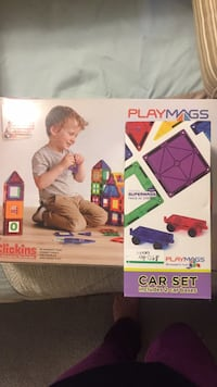 Playmags (100 pc) and car set (2)- Unused. Fairfax, 22032