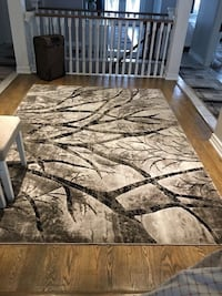 brown and black tree camouflage area rug Mississauga, L5W 1S9