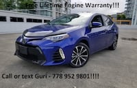 2017 Toyota Corolla C - No Accidents*Free Lifetime Engine Warranty*No Doc Fees!! Surrey