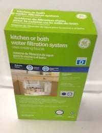 Brand New Kitchen Or Bath Water Filtration System New Westminster