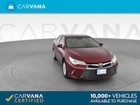 2016 *Toyota* *Camry* LE Sedan 4D sedan Red Downey